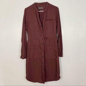 Michael Stars Long Sleeve military style dresscoat